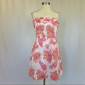 Lilly Pulitzer FERRA Strapless Fit & Flare Dress